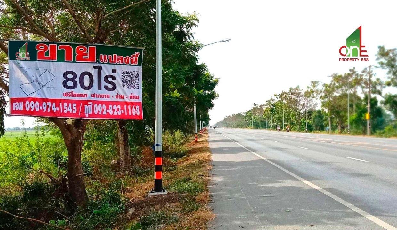 ที่ดิน ชุมชนสามหน่อ  ถนนทางหลวง 33    ต.โคเฒ่าเมืองสุพรรณบุรี