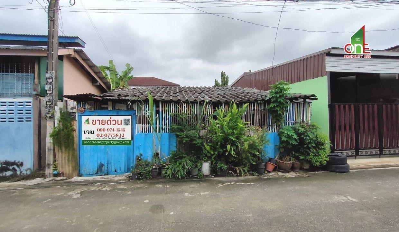 ที่ดิน  +  บ้าน ม.เศรษฐกิจ  ซ.อัสสัมชัญ 7  ถ.เพชรเกษม บางแค   กรุงเทพฯ