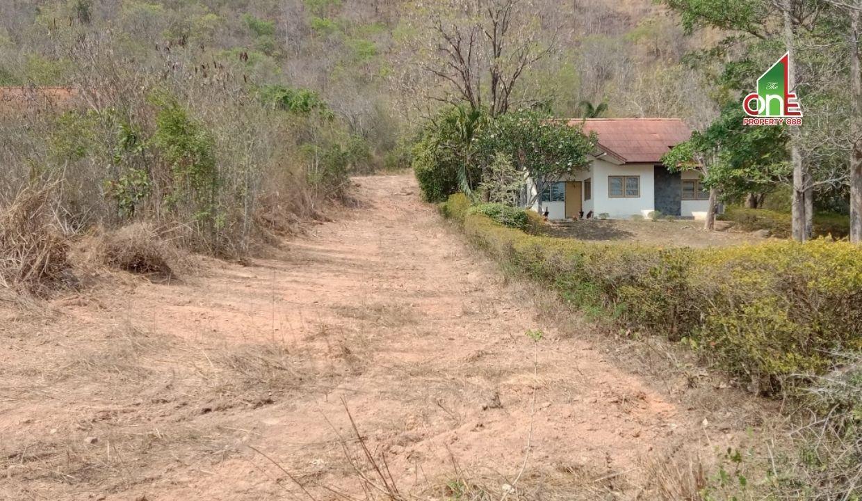 ที่ดิน   +   บ้าน  1  ชั้น  แก่งกระจานคันทรีคลับ   ใกล้สนามกอล์ฟแก่งกระจาน  อำเภอท่ายาง   จังหวัดเพชรบุรี